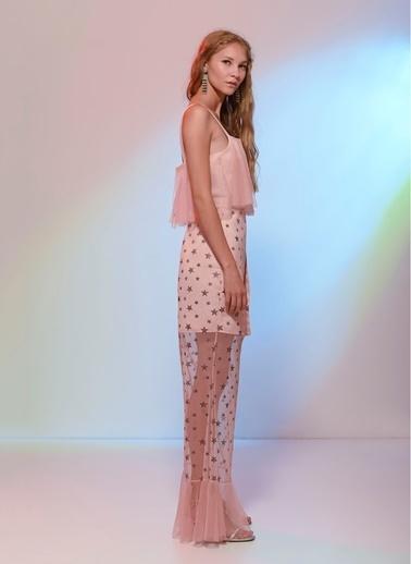 Agenda Sevilay Yıldırım Tasarımı Elbise Pembe